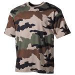 US T-Shirt, halbarm, CCE tarn, 170 g/m²