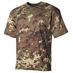 US T-Shirt, halbarm, vegetato, 170 g/m²