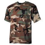 US T-Shirt, halbarm, woodland, 170 g/m² XXL