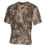 US T-Shirt, halbarm, snake FG, 170 g/m² M
