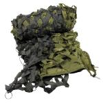 Tarnnetz, 6 x 3 m, oliv, mit PVC-Tragebeutel