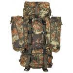 """Rucksack,""""Alpin110"""",flecktarn, 2 abnehmbare Seitentaschen"""
