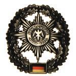 BW Barettabzeichen, Feldjäger, Metall
