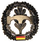 BW Barettabzeichen, Pioniere, Metall