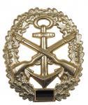 BW Barettabzeichen, Marinesicherung, Metall