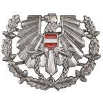 Österr. BH Schirmmützen- abzeichen, Heer, neuwertig