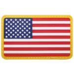 Klettabzeichen, USA, 3D, Größe: 8 x 5 cm