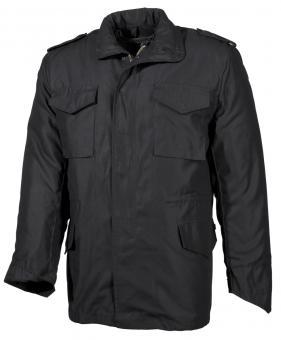 ÖKB Uniformjacke, schwarz, m. auskn. Steppfutter, Mod.