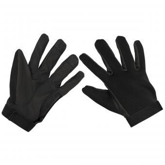Neopren Fingerhandschuhe, schwarz