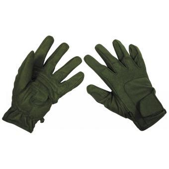 Fingerhandschuhe, Worker light, oliv M