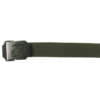 USMC Gürtel, 35 mm, oliv