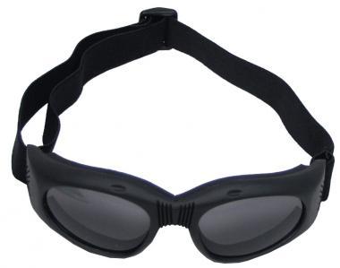 """Bikerbrille, """"Highway"""", schwarz, mit Gelenk"""