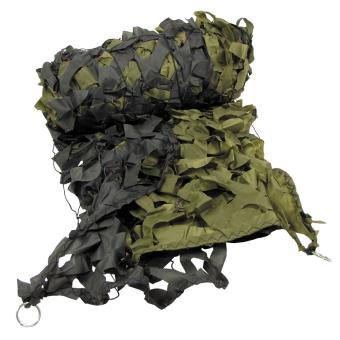 Tarnnetz, 3 x 2 m, oliv, mit PVC-Tragebeutel