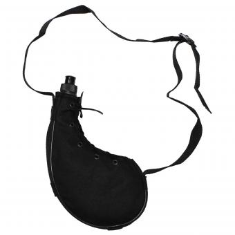 "Feldflasche, ""Bota"", schwarz, Plastik, ca. 0,75 Liter"
