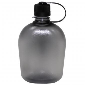 US Feldflasche, GEN II, 1 l, schwarz/transparent, BPA-frei
