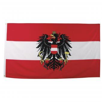 Fahne, Österreich, Polyester, Gr. 90 x 150 cm