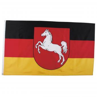 Fahne, Niedersachsen, Polyester, Gr. 90x150 cm