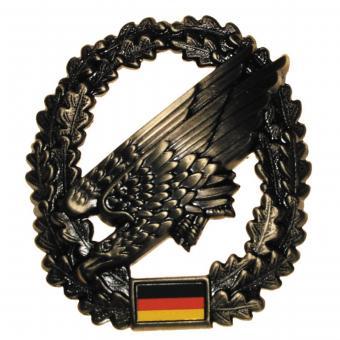 BW Barettabzeichen, Fallschirmjäger, Metall