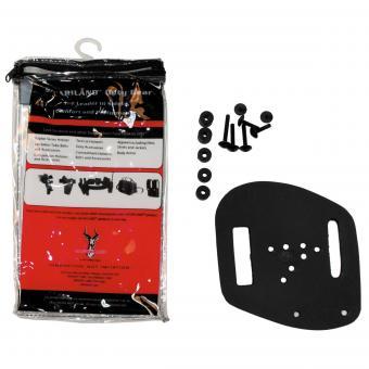 Adapterplatte für Holster, SAFARILAND, schwarz, neuw.
