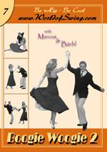 World of Swing Lehrvideo DVD #7 - Boogie Woogie 2