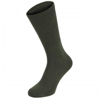 Army Socken, oliv, halblang, 3er Pack