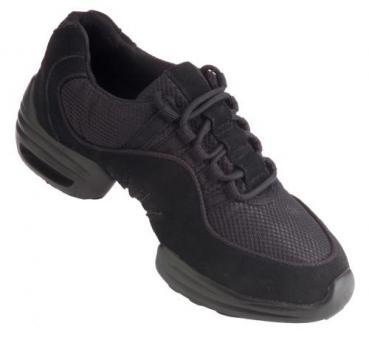 1559 Rumpf Glider Sneaker, schwarz