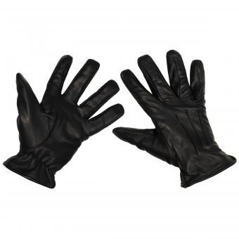 """Lederhandschuhe, """"Safety"""", schwarz, schnitthemmend"""