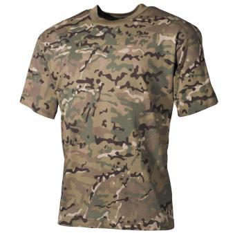 Kinder T-Shirt, halbarm, operation-camo, 170 g/m²