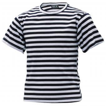 Russ. Marine Kinder T-Shirt, weiß-blau, halbarm