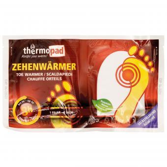 """Zehenwärmer, """"Thermopad"""", für Einmalgebrauch"""
