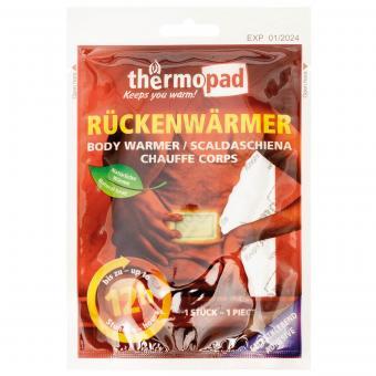 """Rückenwärmer, """"Thermopad"""", für Einmalgebrauch"""