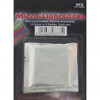 Leuchtstab, Mini, (Fischer- Knicklicht), 10 Stk./Pack