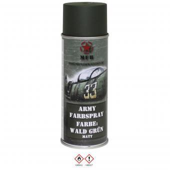 Army Farbspray, WALD GRÜN, matt, 400 ml