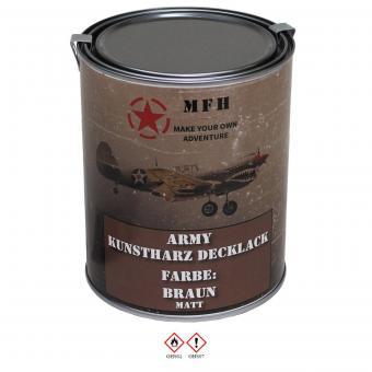 Army Lack, BRAUN, matt, Dose, 1 l
