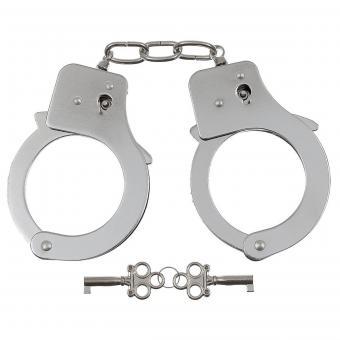 Handschellen, 2 Schlüssel, chrom