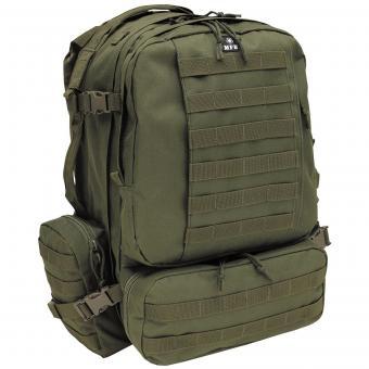 Ital. Rucksack, oliv, Tactical-Modular