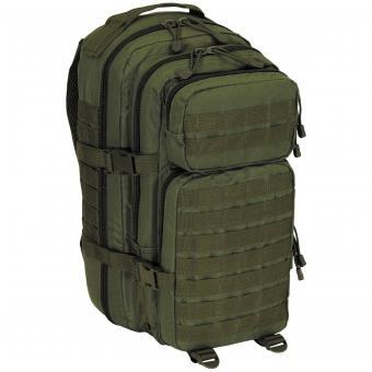 US Rucksack, Assault I, Basic, oliv