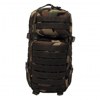 US Rucksack, Assault I, woodland