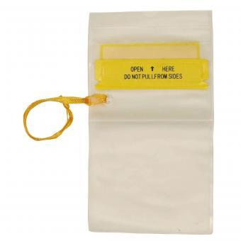 Wasserdichte Dokumentenhülle, transparent, Trageband, klein
