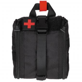 Tasche, Erste-Hilfe, klein, MOLLE, schwarz