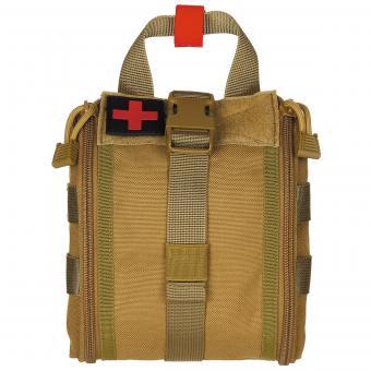 Tasche, Erste-Hilfe, klein, MOLLE, coyote tan
