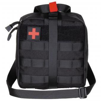 Tasche, Erste-Hilfe, groß, MOLLE, schwarz