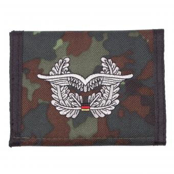 BW Geldbörse, flecktarn, Luftwaffe