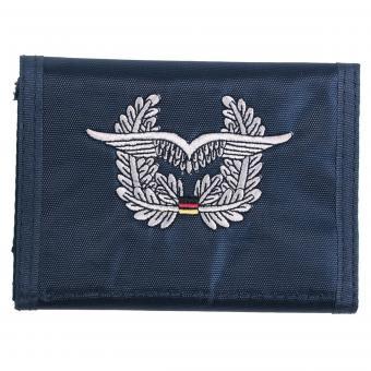 BW Geldbörse, blau,  Luftwaffe