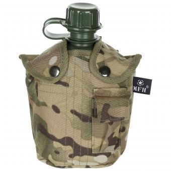 US Plastikfeldflasche, 1 l, Hülle, operation-ca., BPA-frei