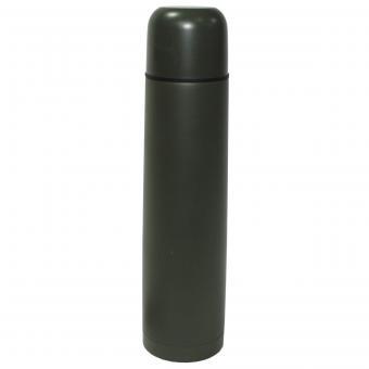 Vakuum-Thermoskanne, 1 l, oliv