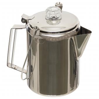 Kaffeekanne, mit Perkolator, Edelstahl, (9 Tassen)