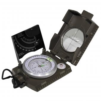 Ital. Kompass,  Metallgehäuse