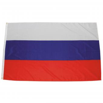 Fahne, Russland, Polyester, 90 x 150 cm