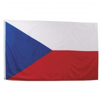 Fahne, Tschechische Republik,  Polyester, 90 x 150 cm